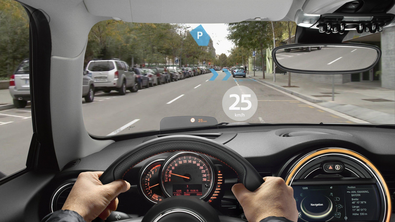 Mini vil mikse kjøring og utvidet virkelighet
