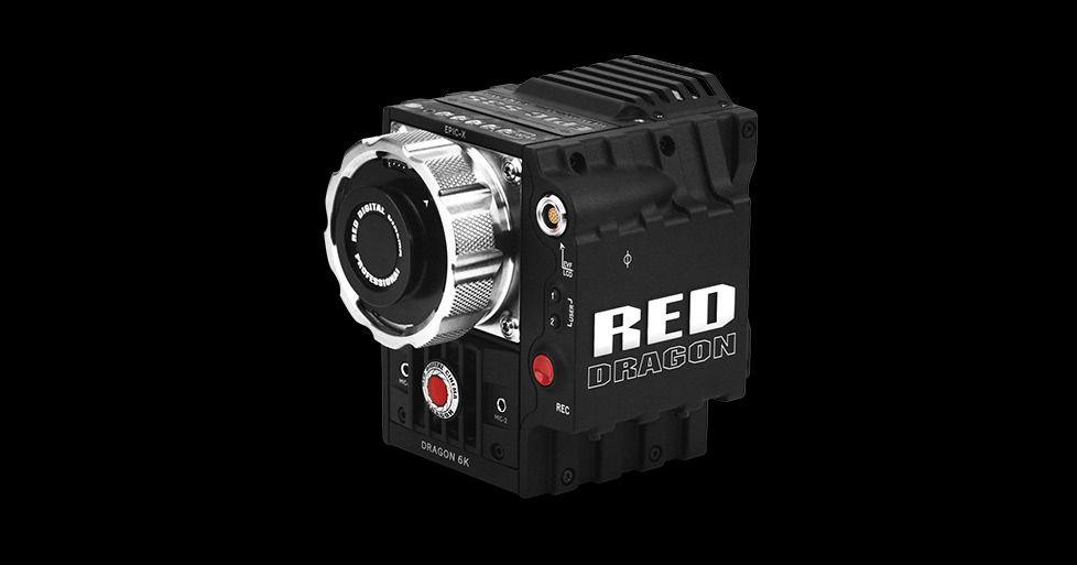 Kameraene fra RED er modulære, og selve kameraenheten er veldig liten. Foto: RED
