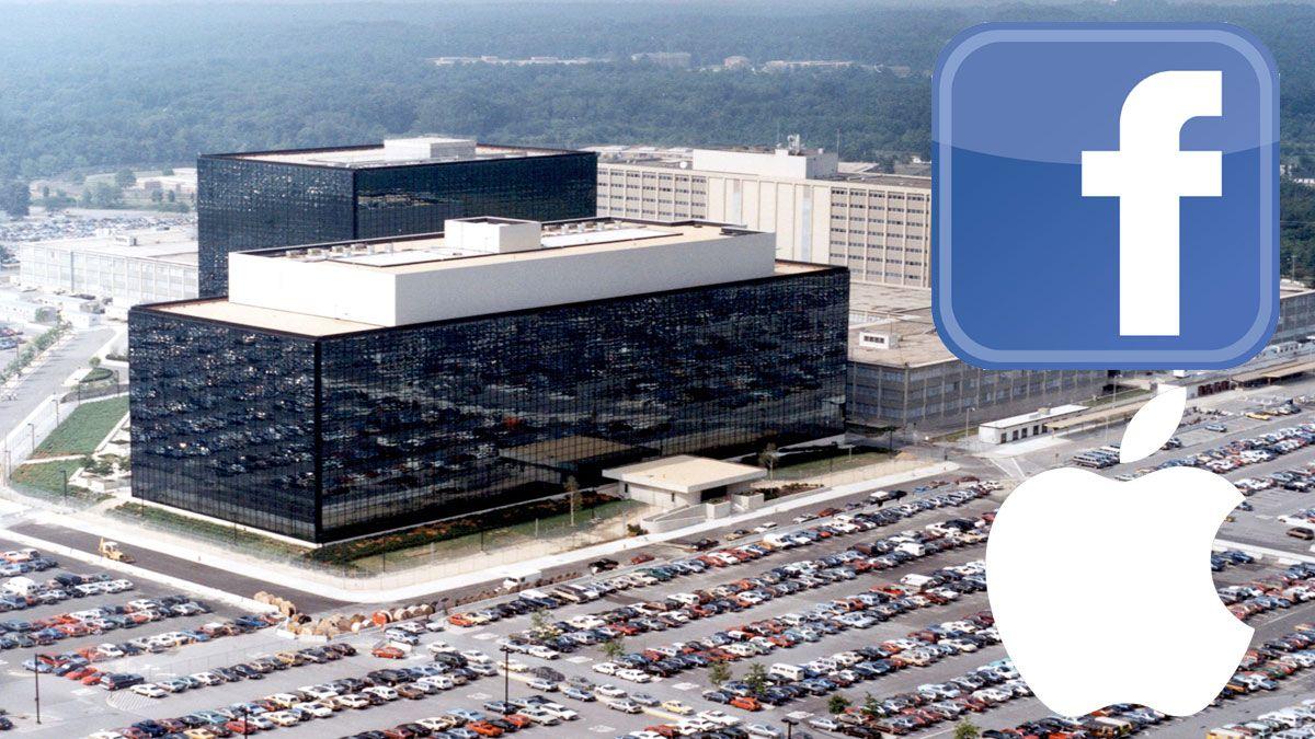 Både Facebook og Apple sine brukere skulle være utsatt for PRISM-programmets snokemuligheter.Foto: NSA, Wikimedia