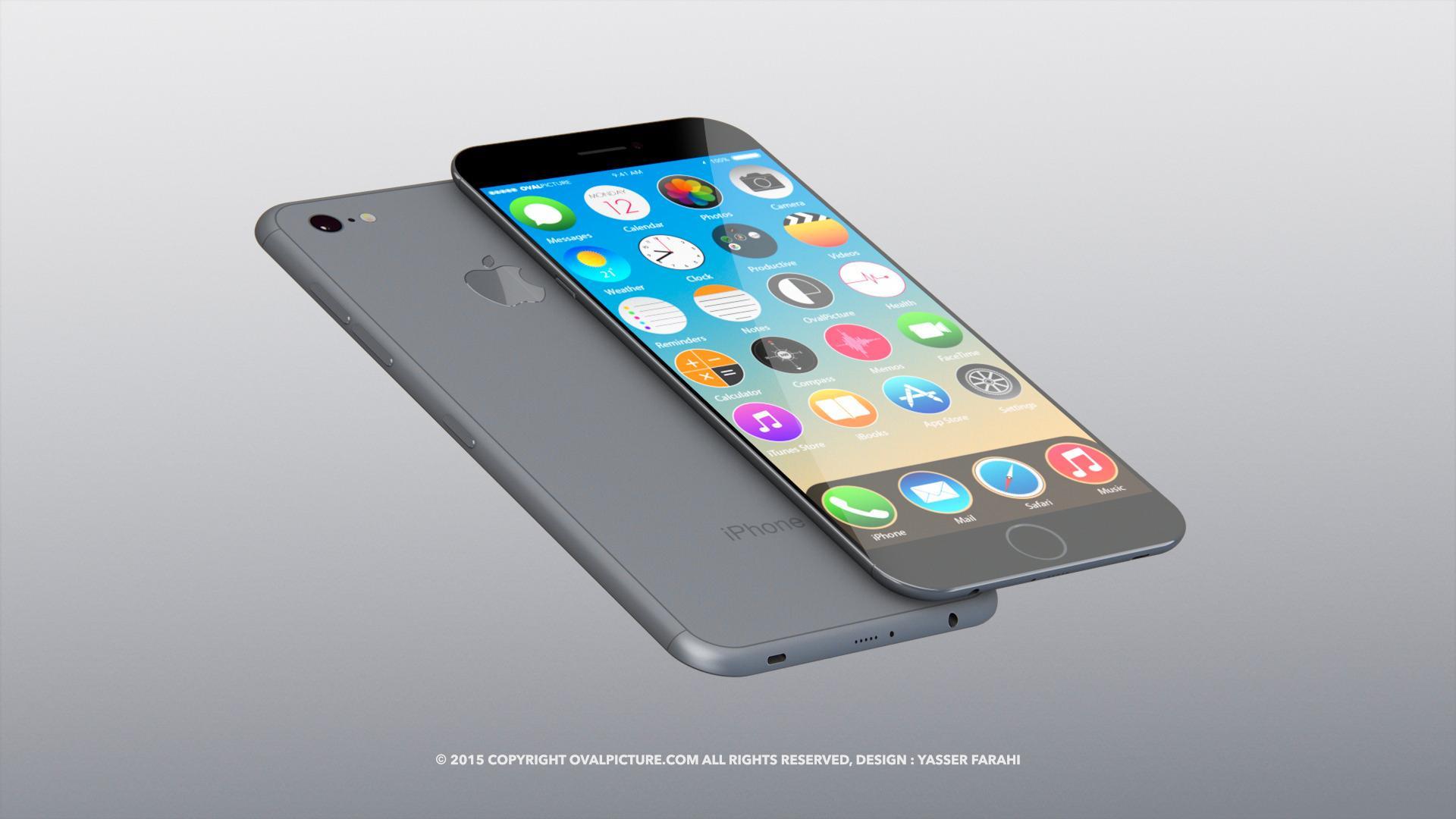 Blir iPhone 7 så tynn som på dette konseptet, er det godt mulig at hodetelefonkontakten må bøte med livet – eller bli forminsket, som på bildet.