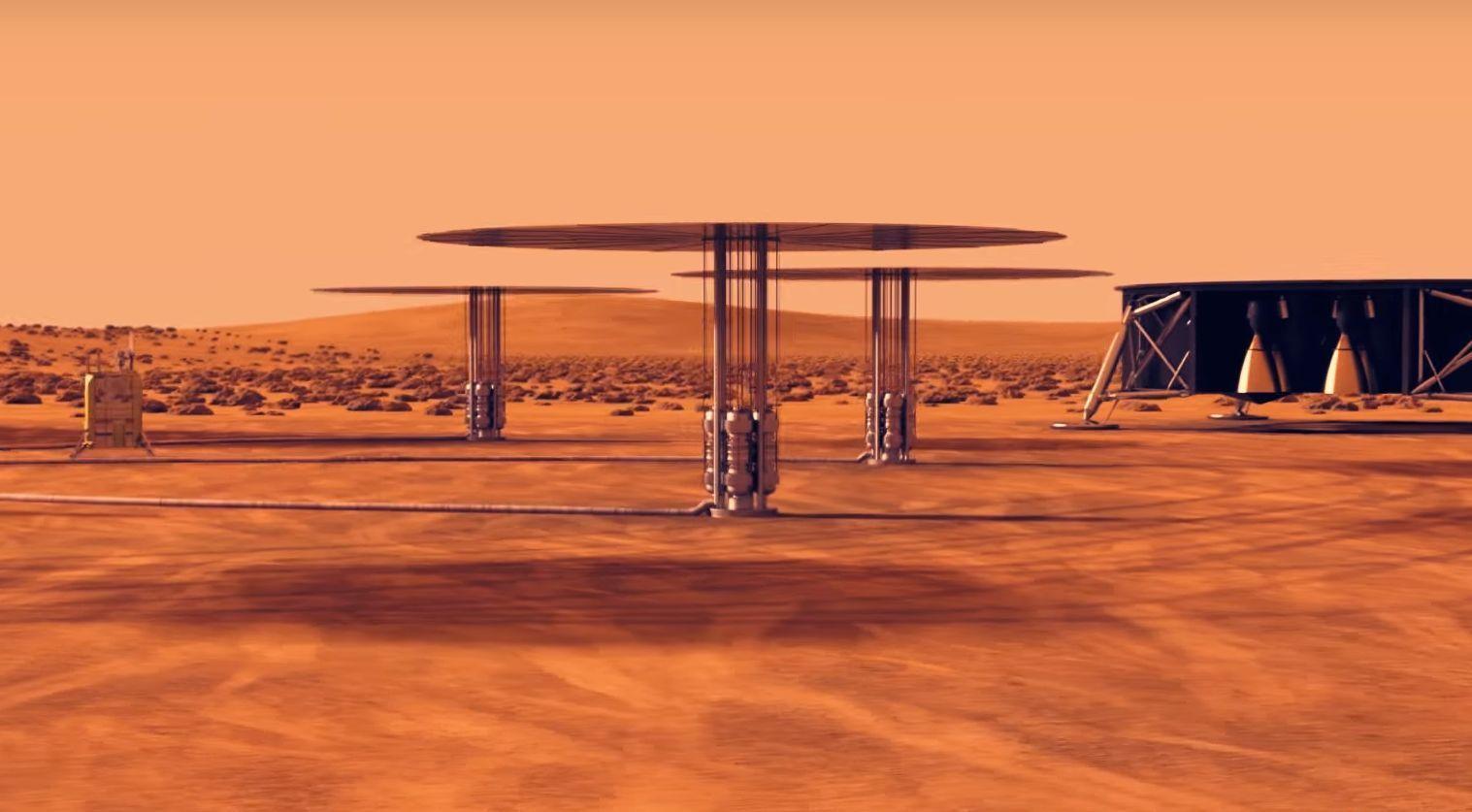 Dette kan bli energikilden til den første Mars-kolonien