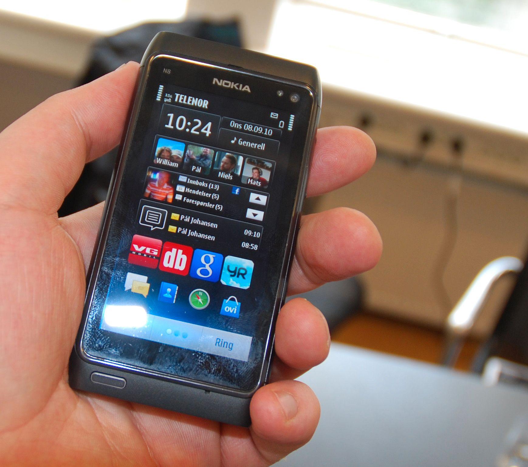 Hjemmeskjermene på N8 er det største beviset på at noe nytt har skjedd med Symbian.