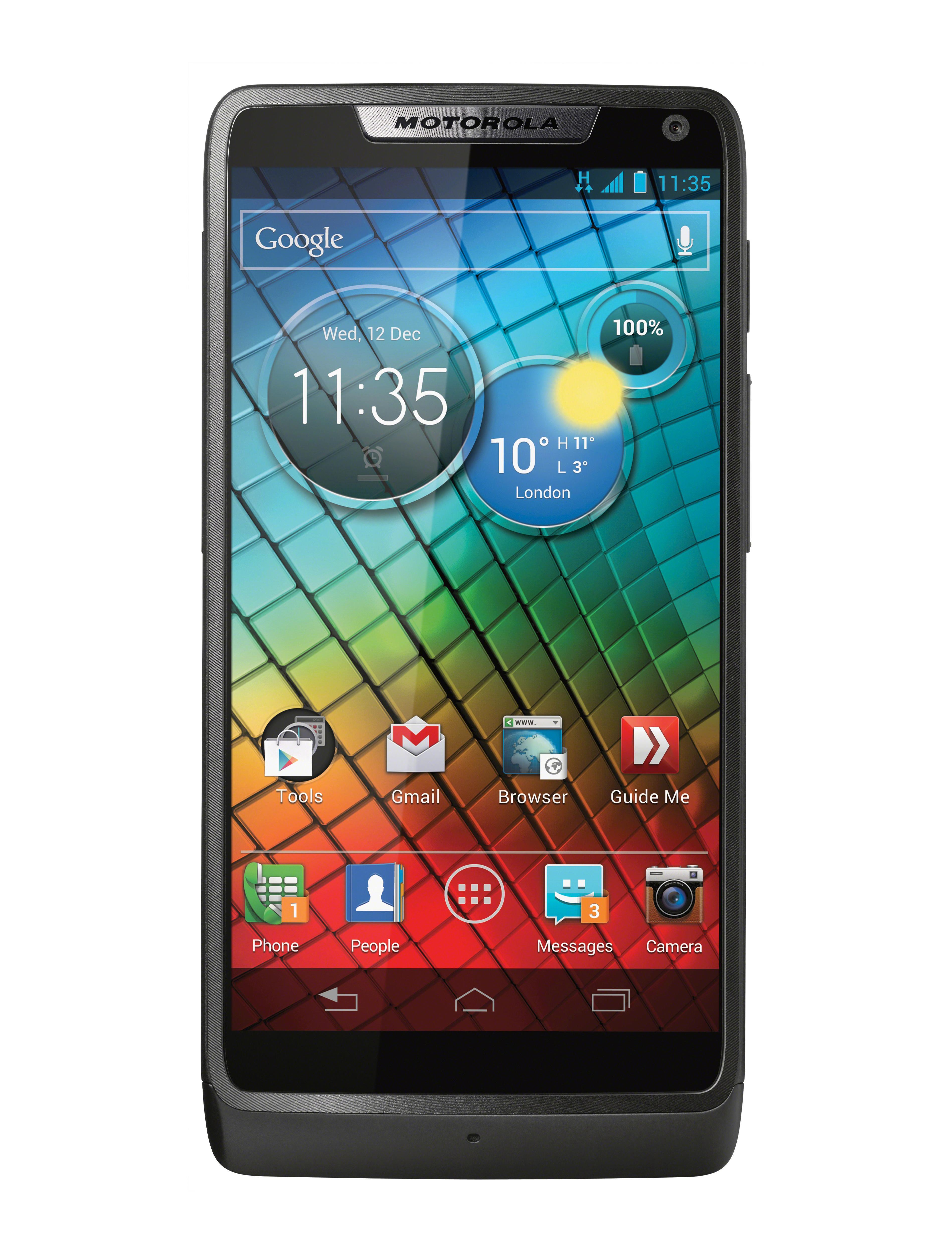 Slik skal nye Motorola Razr i se ut.
