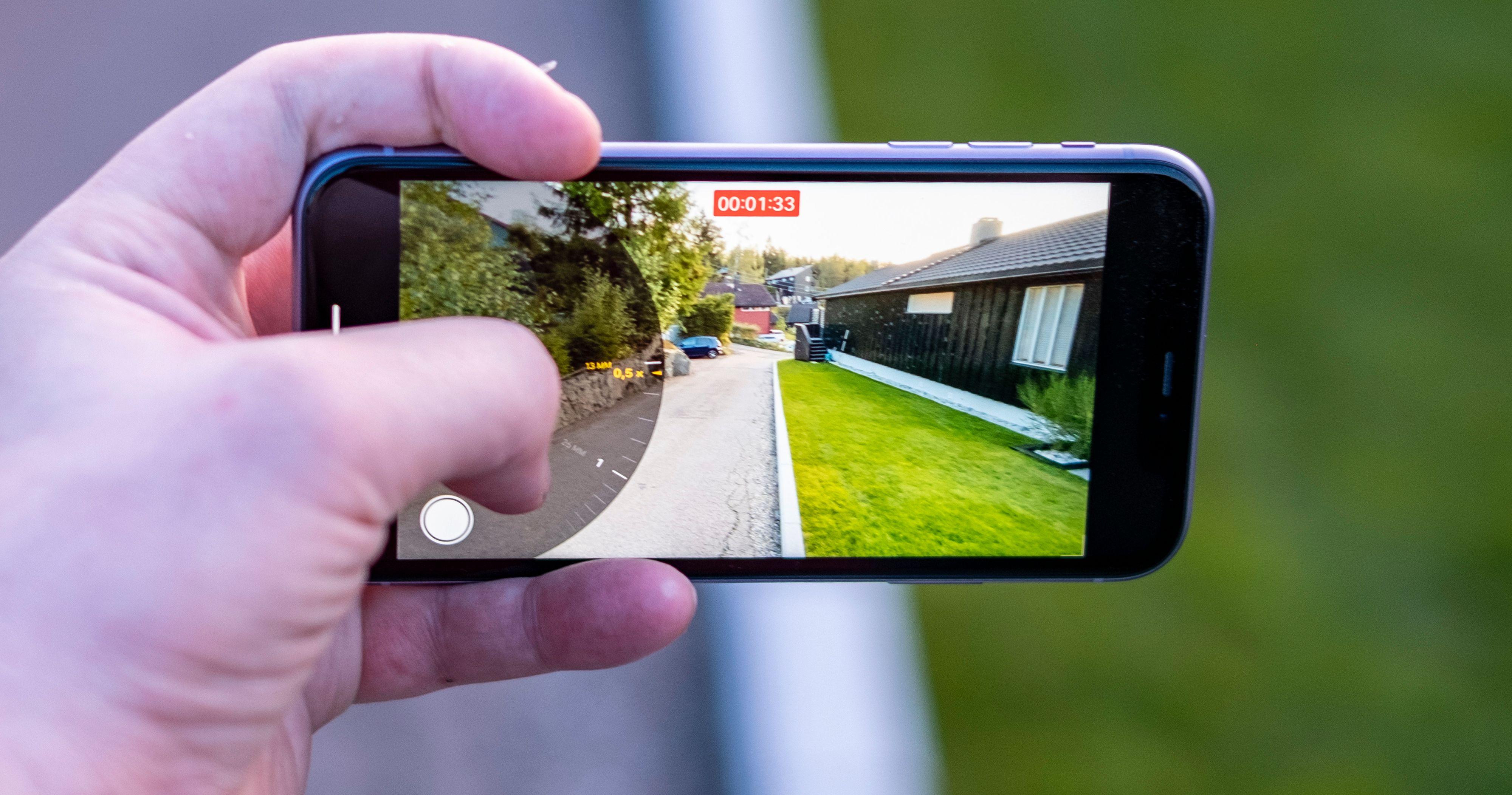 Frontkameraet på iPhone 11 havner utenfor topp 10 i test
