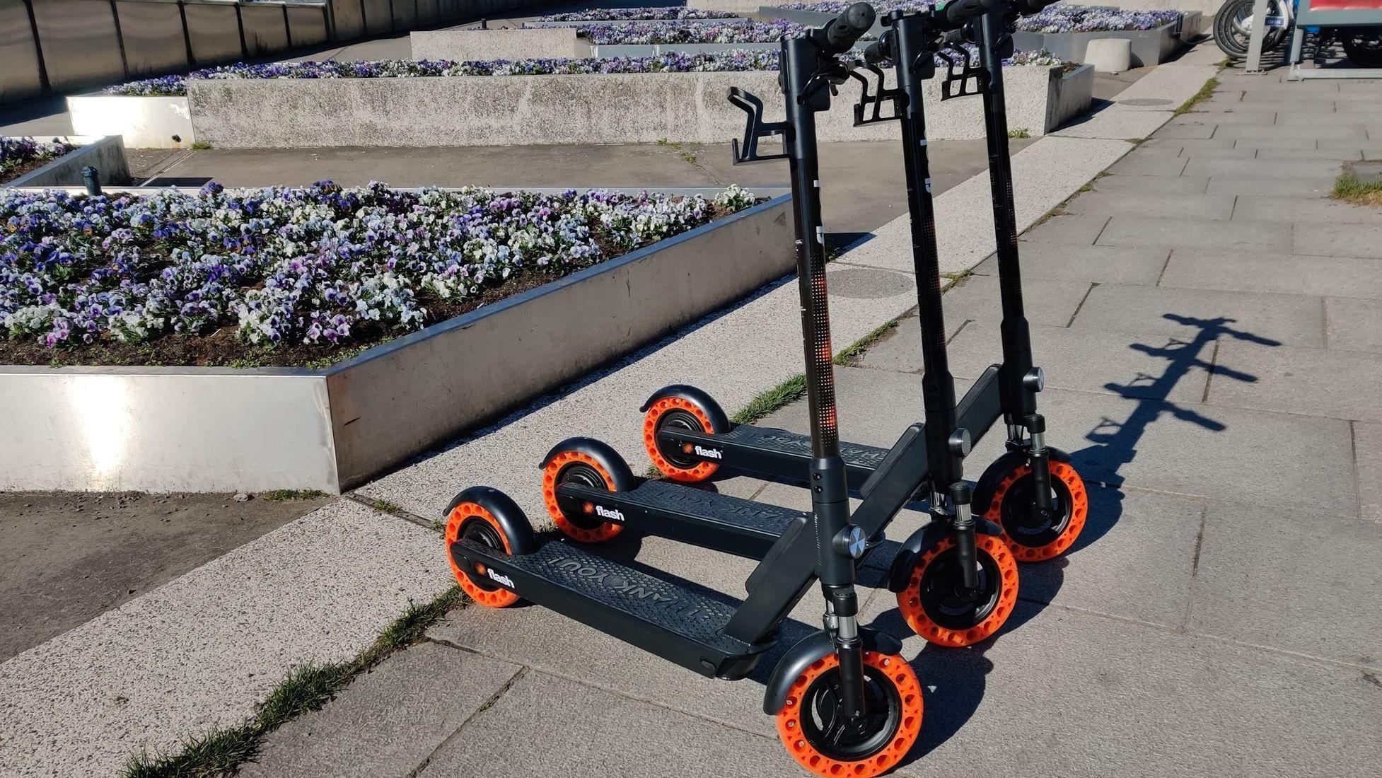 Slik så Flash-syklene ut da selskapet lanserte i Oslo i mai.