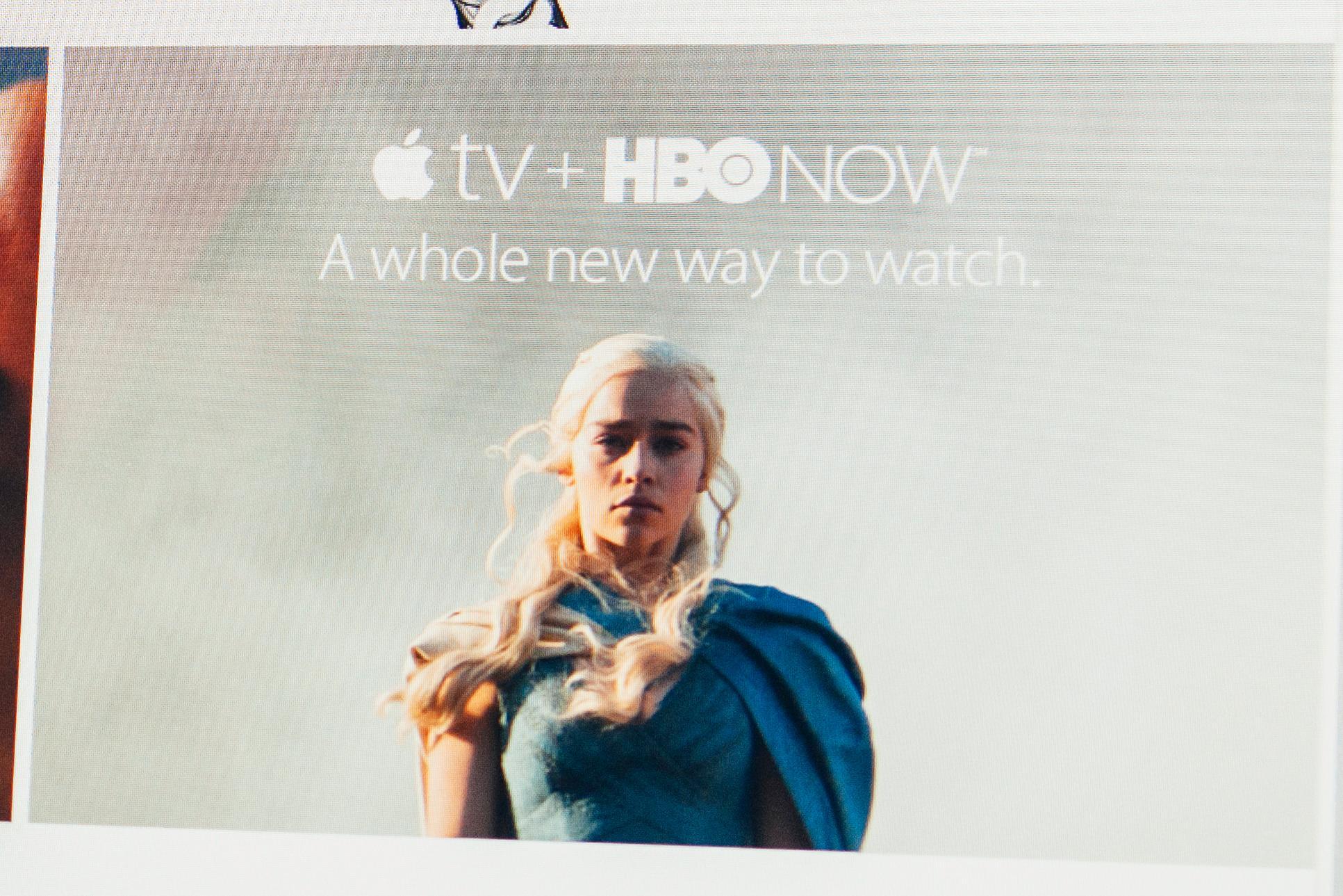 HBOs nettjeneste HBO Now er et samarbeid med Apple og kun tilgjengelig på Apple TV i USA.