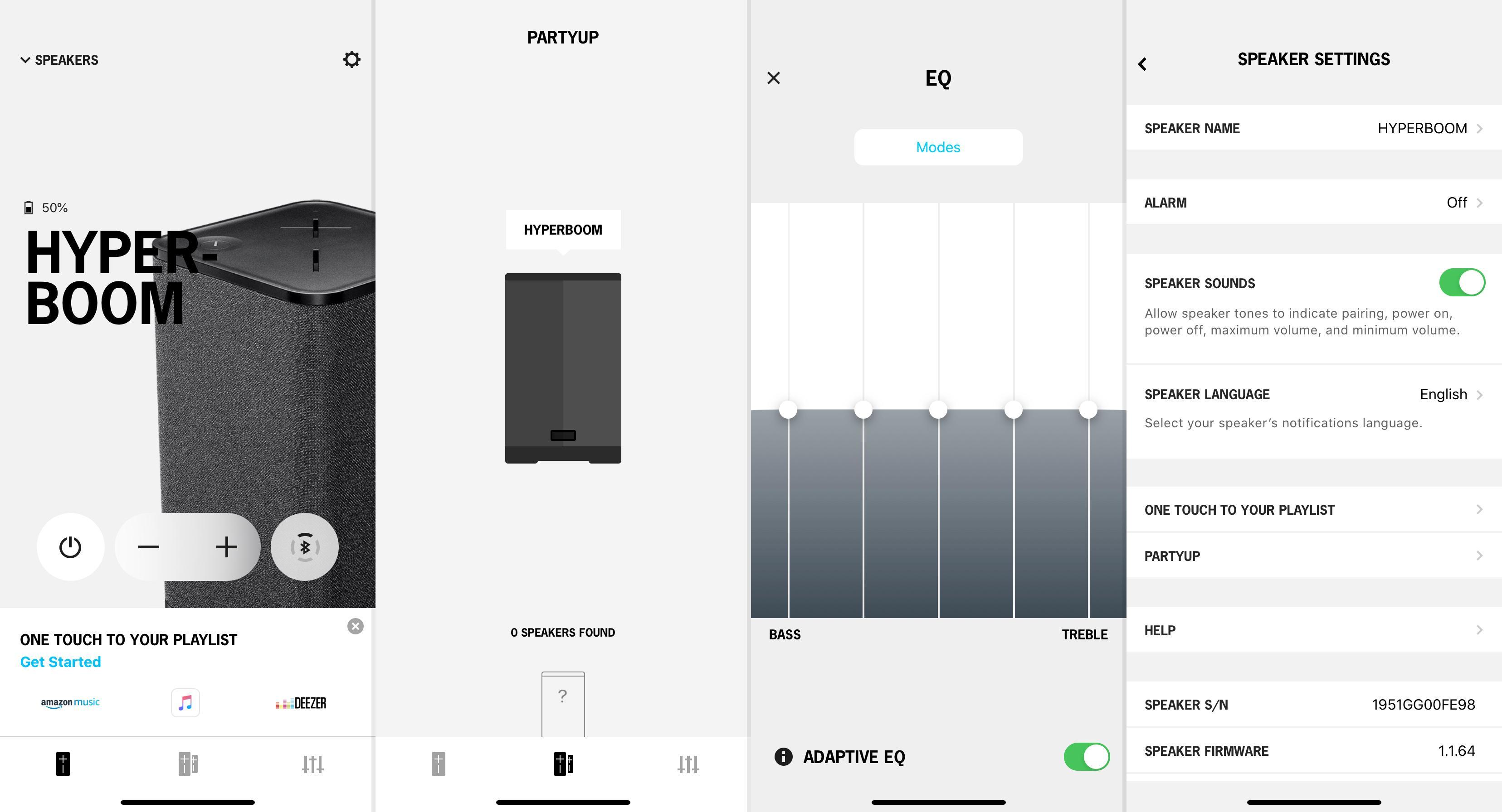 Appen til Ultimate Ears er endelig felles for alle høyttalerne i Boom-serien.
