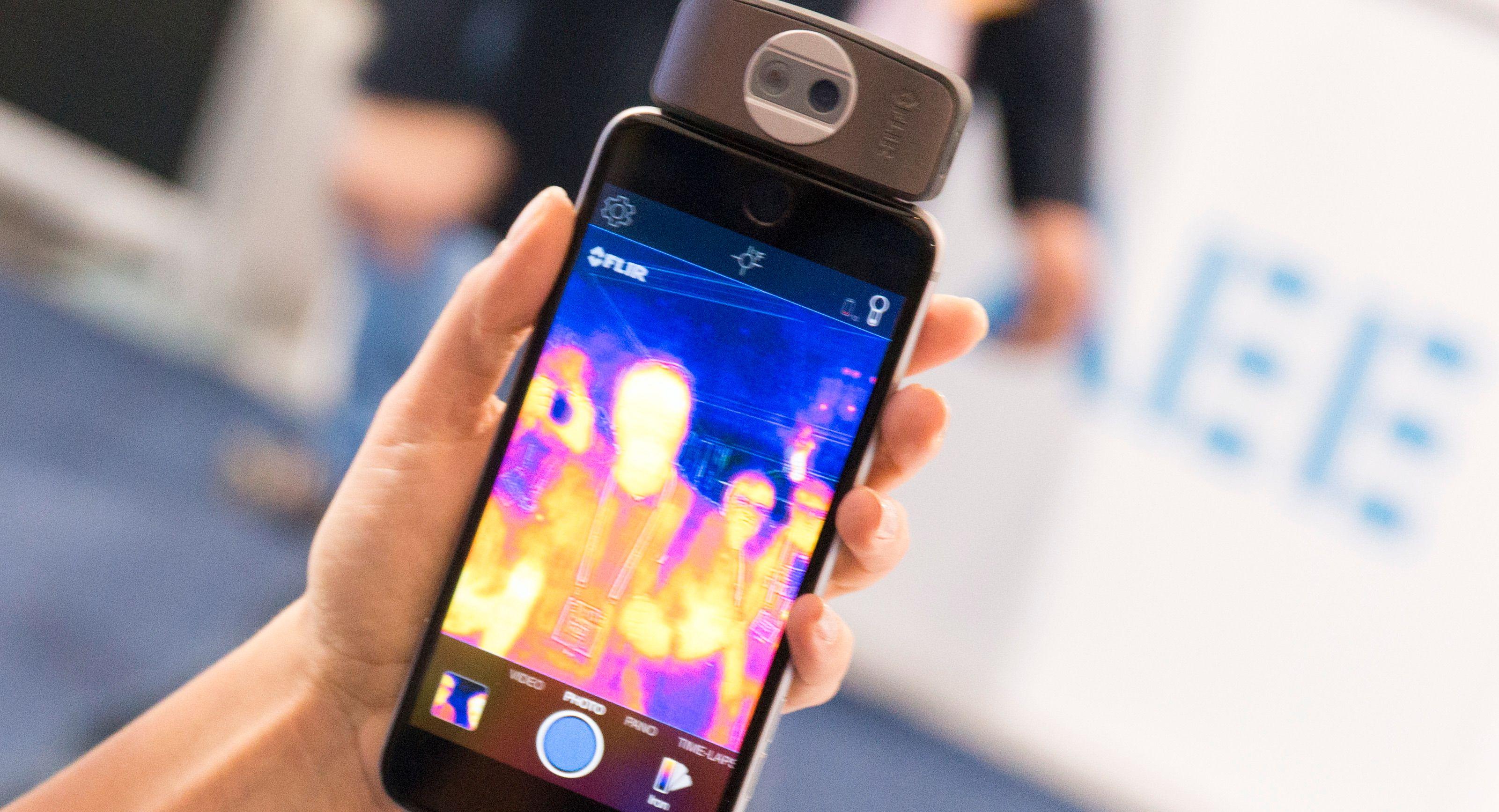 Hva med et varmesøkende kamera til mobilen din?