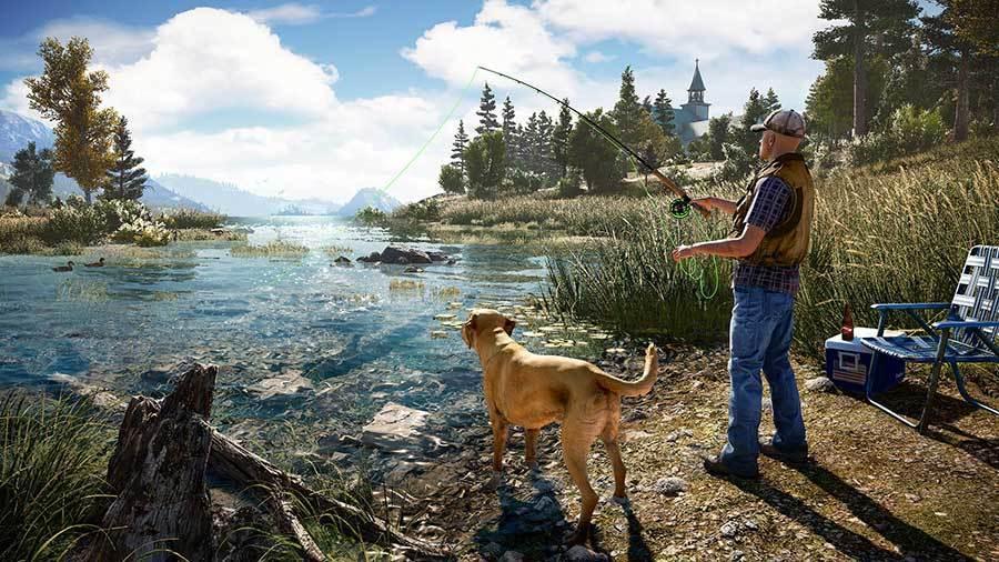 Nytt spill: Far Cry 5.