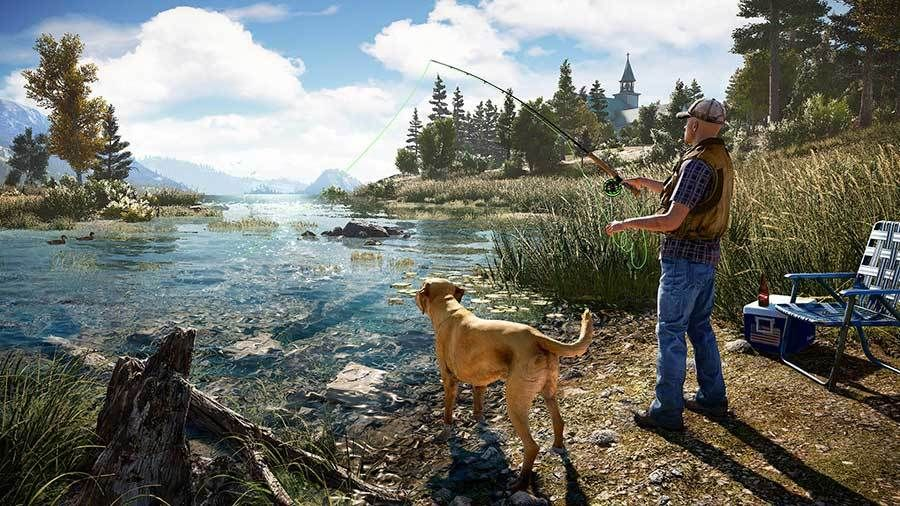 Nytt spill: Far Cry 5.