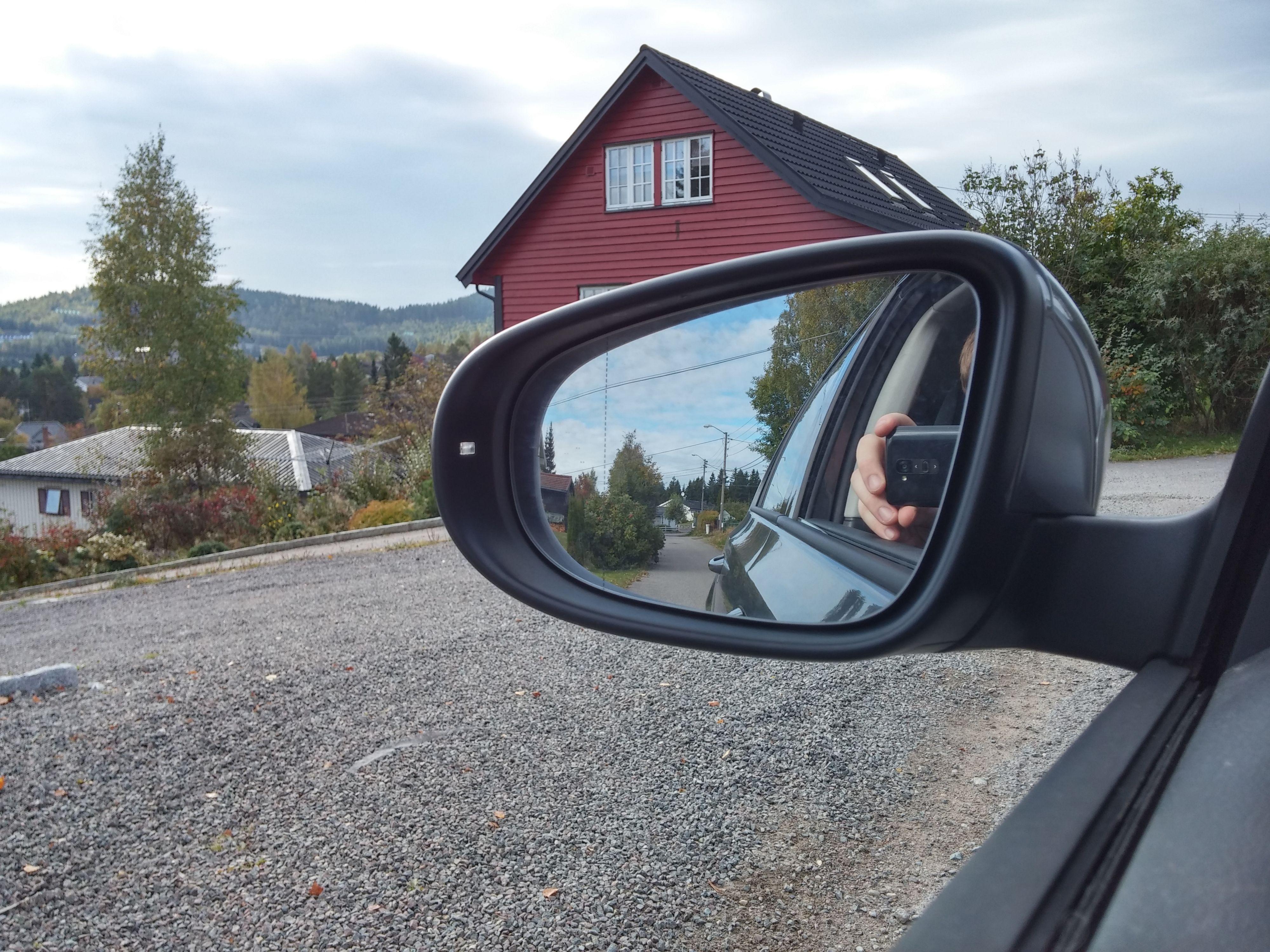 Kjøretur for å teste kamerastabilisering.