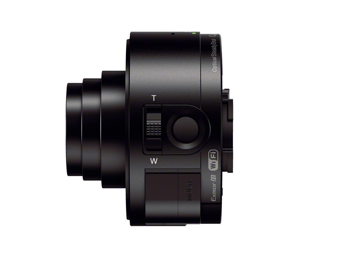 QX10 er litt slankere.Foto: Sony