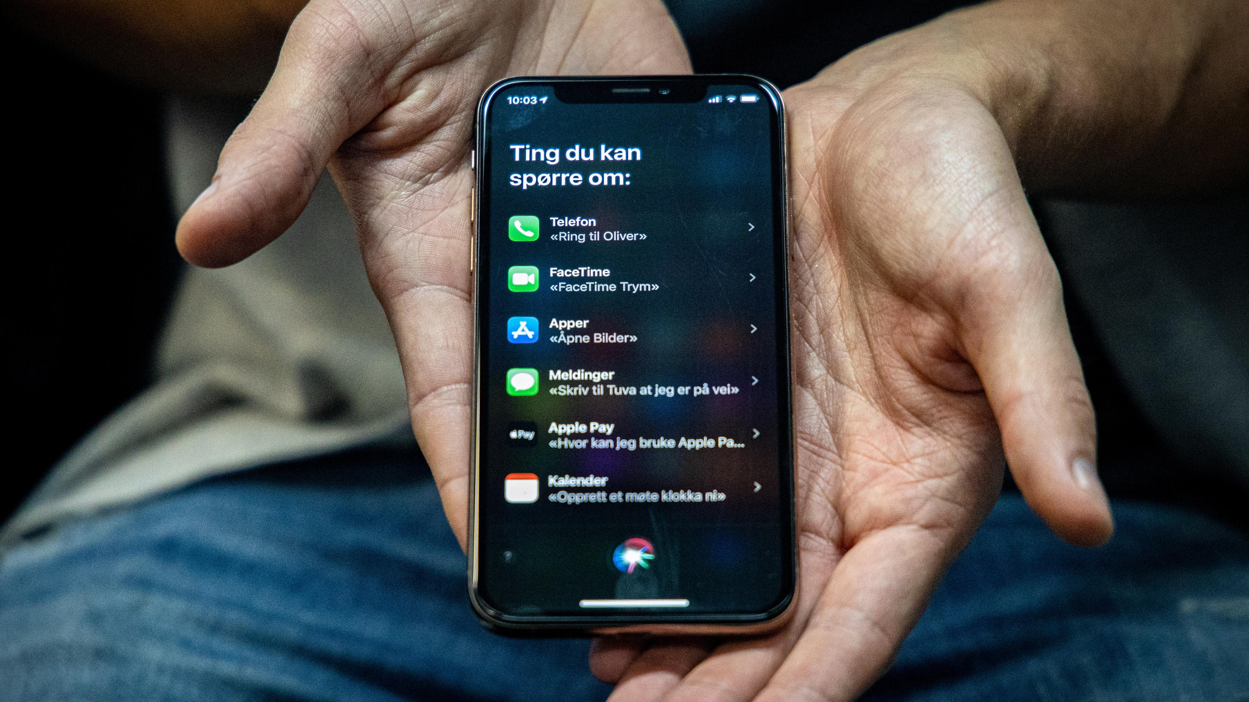 Siri lar deg velge Spotify i ny iOS