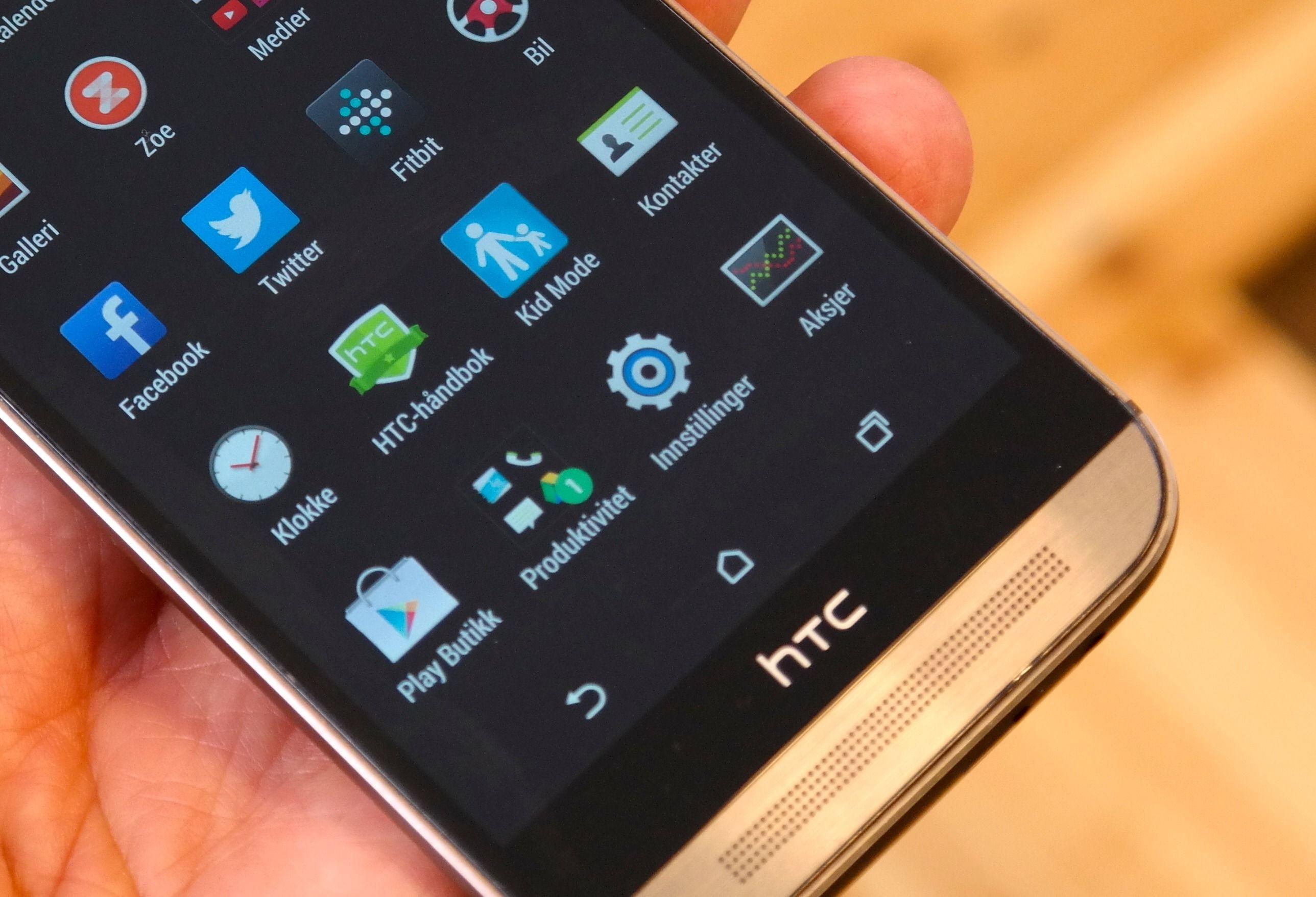 HTC skal visstnok fjerne det sorte feltet med HTC-logo på i neste generasjon One.
