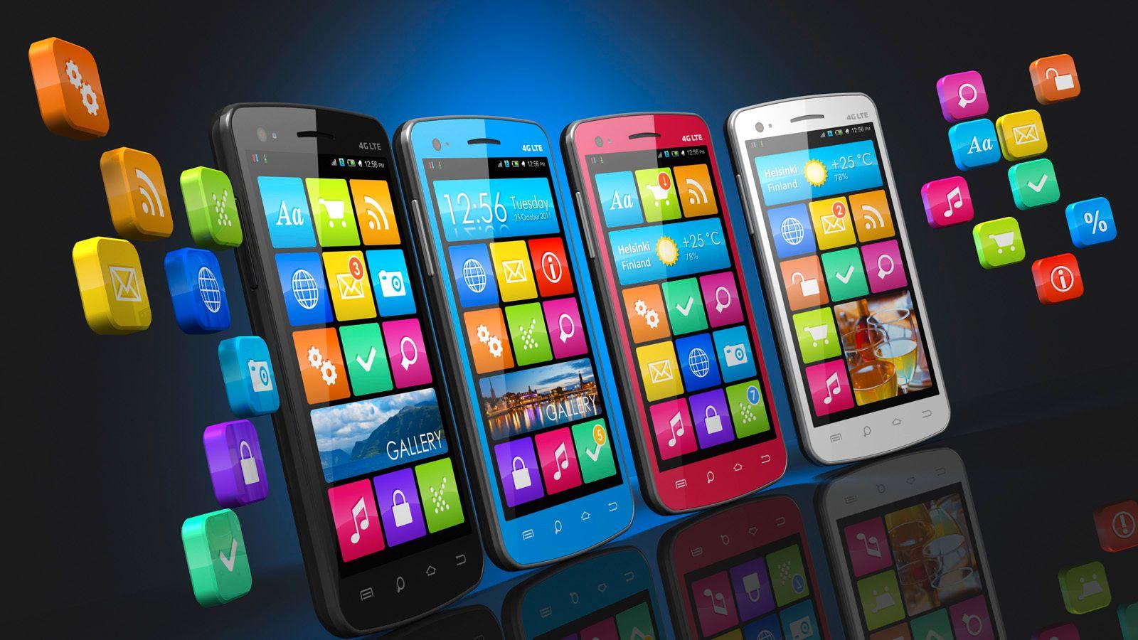 Anbefalte apper til Android og iOS
