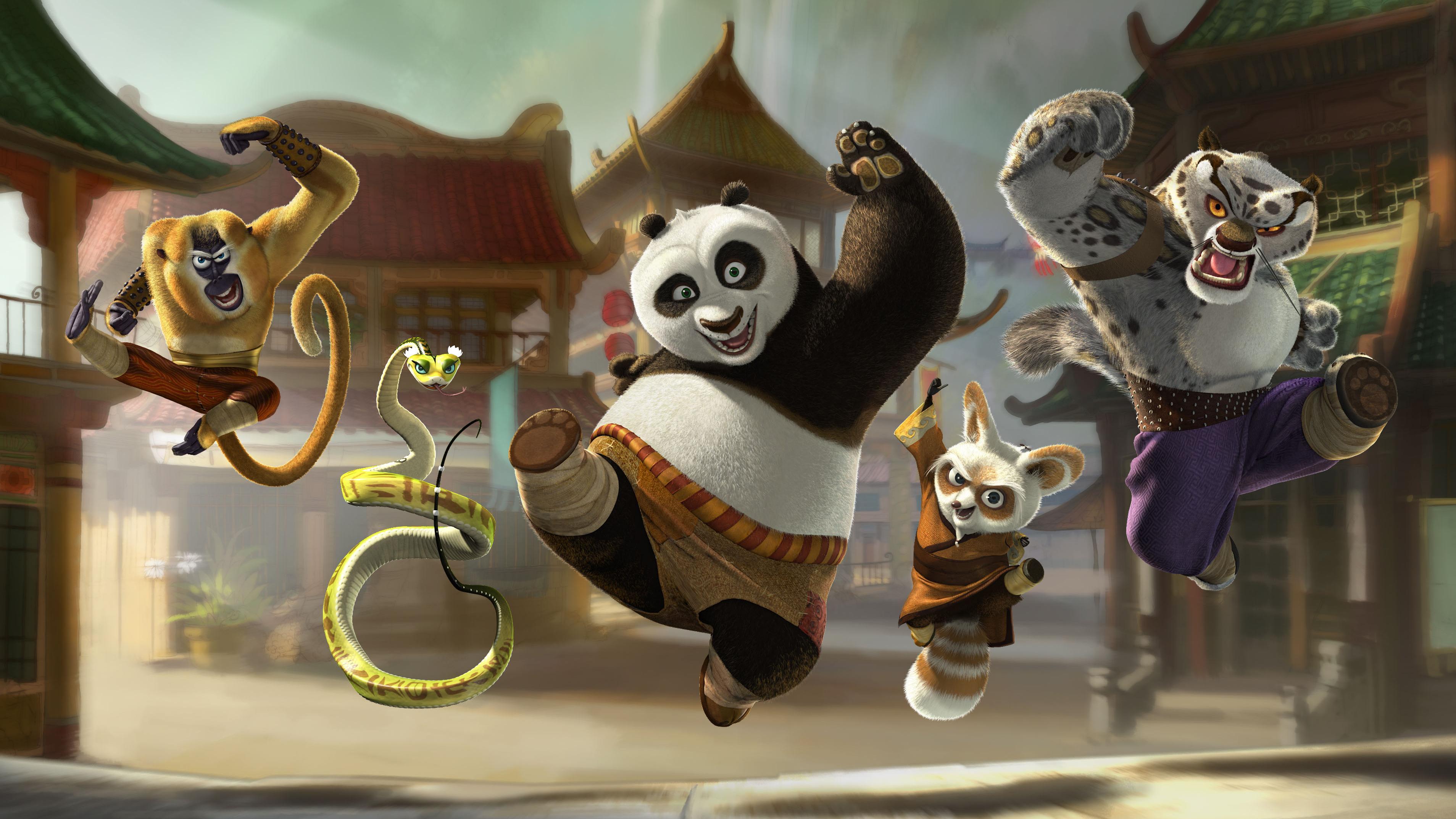 Tredimensjonal panda-action
