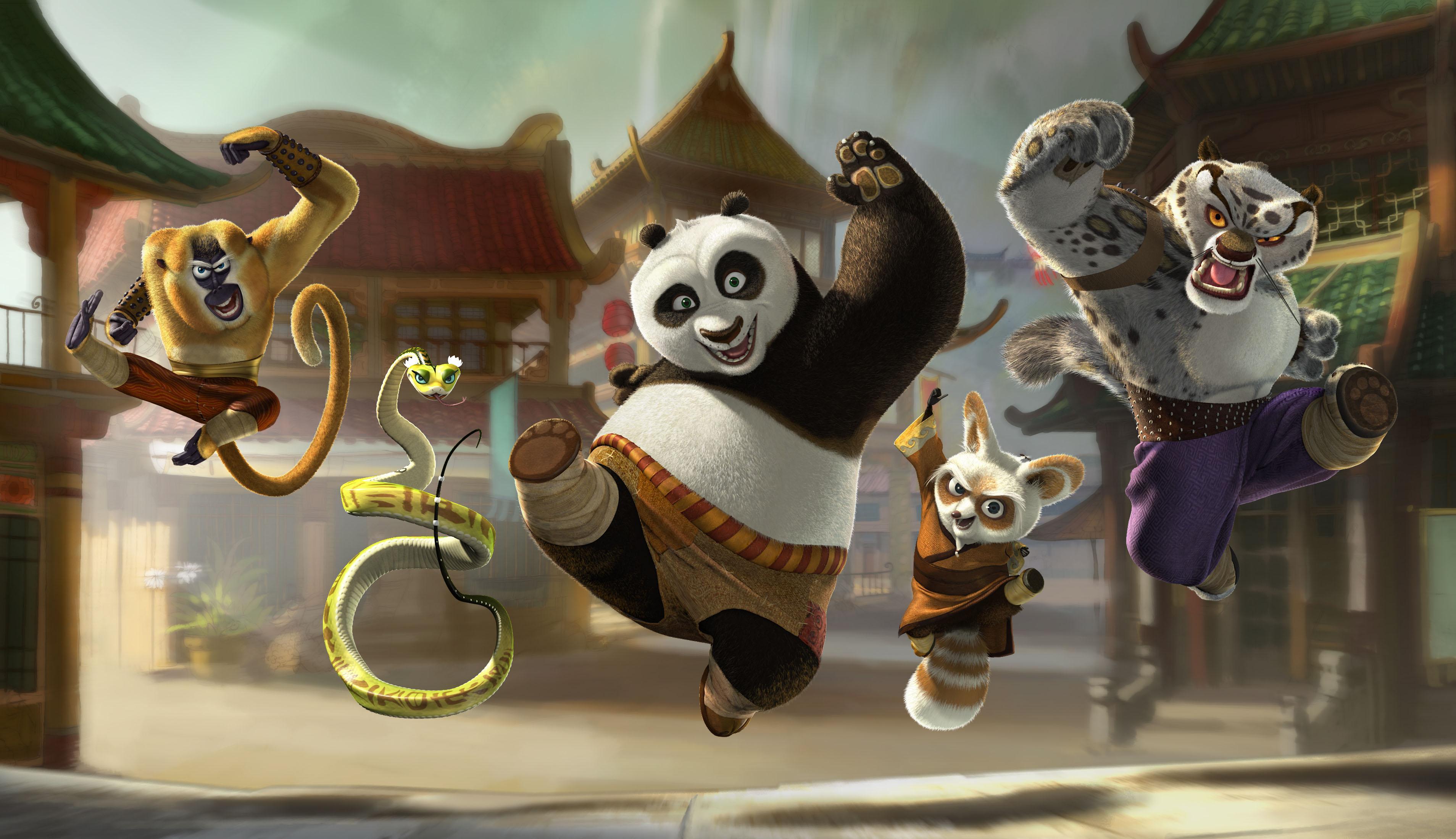 I 2011 skal pandaen Po, fortsette sitt eventyr.