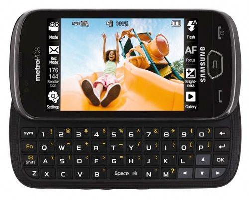 Slik ser verdens første LTE-telefon, Samsung Craft, ut. Det er ikke en smarttelefon, men en såkalt