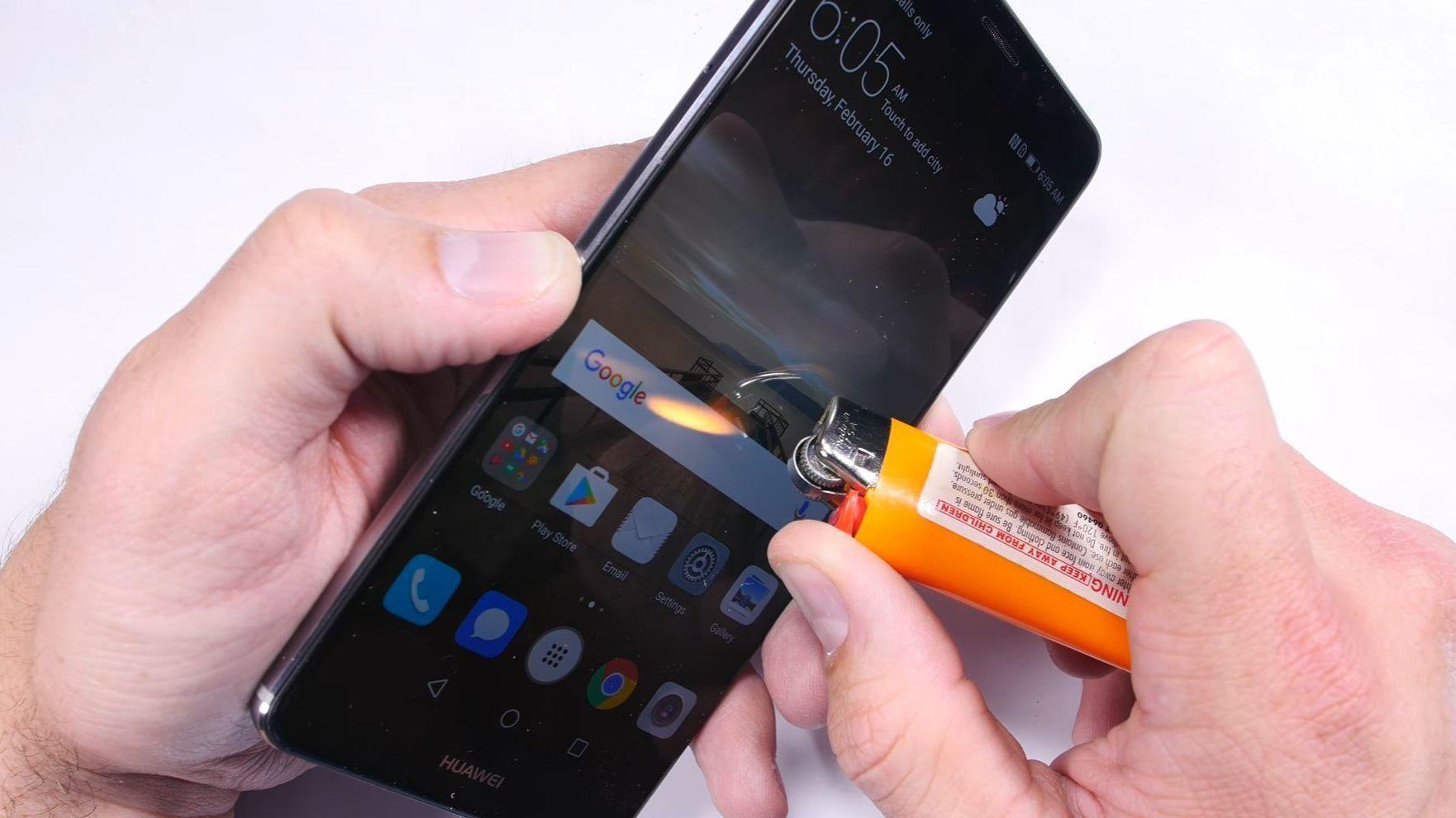 Så mye tåler en av Huaweis beste mobiler