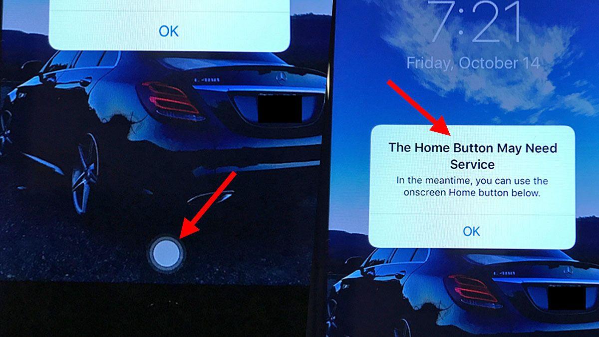 Se Apples hjemknapp-erstatning i iPhone 7