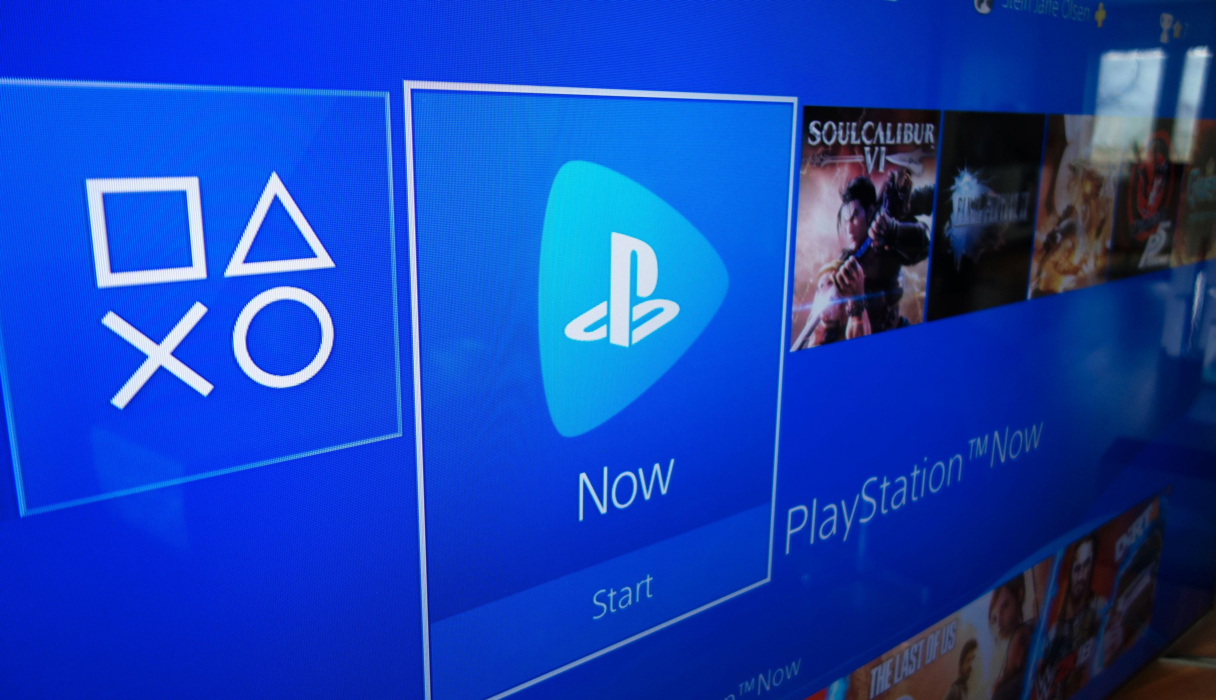 Oppdaterer du Playstation-konsollen til siste versjon bør Now-ikonet dukke opp i hovedmenyen.