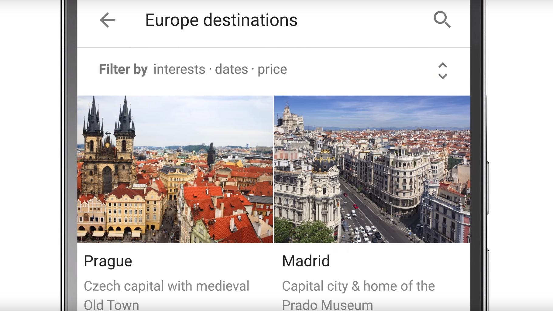 Nå kan du enkelt planlegge hele ferien rett fra Googles søkemotor