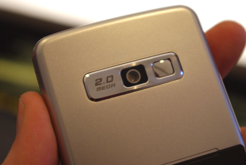 Et kamera er på plass, med to megapikslers oppløsning.
