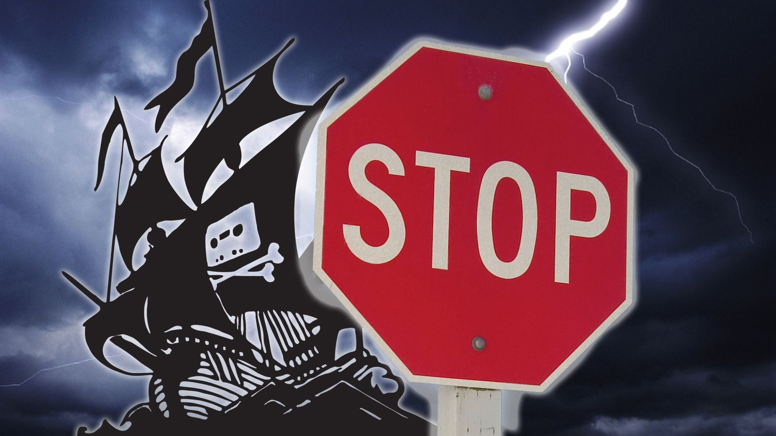 The Pirate Bay har nå blitt blokkert i Norge. Foto: The Pirate Bay og iStockphoto
