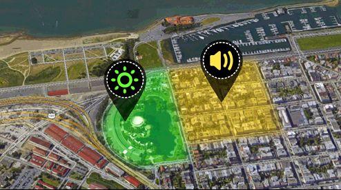Sensoren kan brukes til å merke av områder på kart. Foto: Scarab