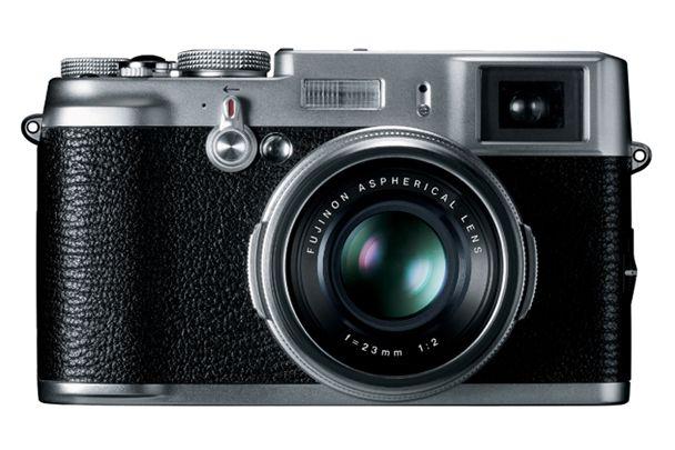 FinePix X100, kameraet som startet retrobølgen.Foto: Fujifilm