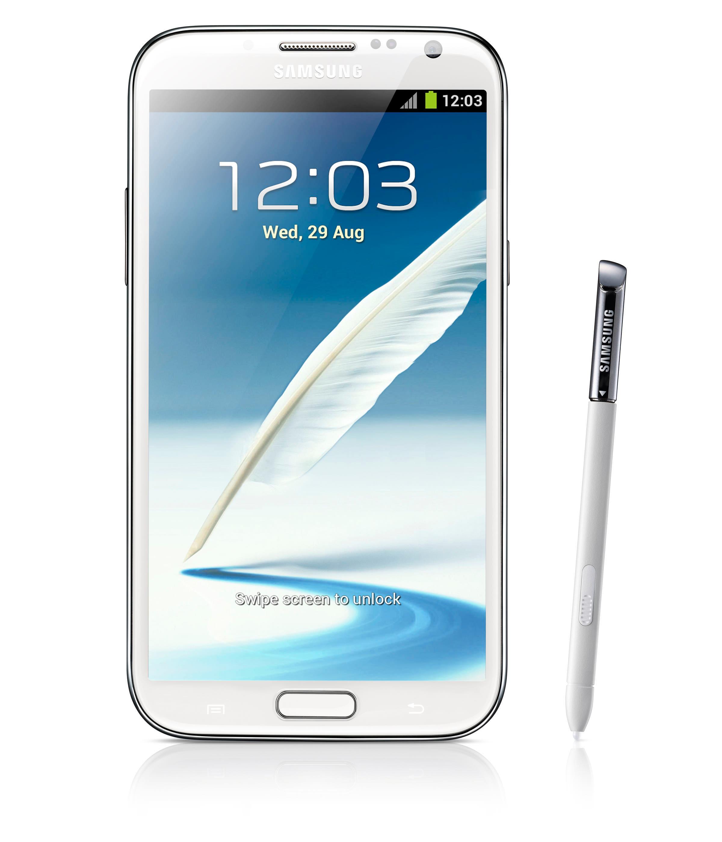 Samsungs Galaxy Note-serie har banet veien for gigantmobilene. Nå ser det ut til at flere produsenter adopterer den digitale skjermpennen.Foto: Samsung
