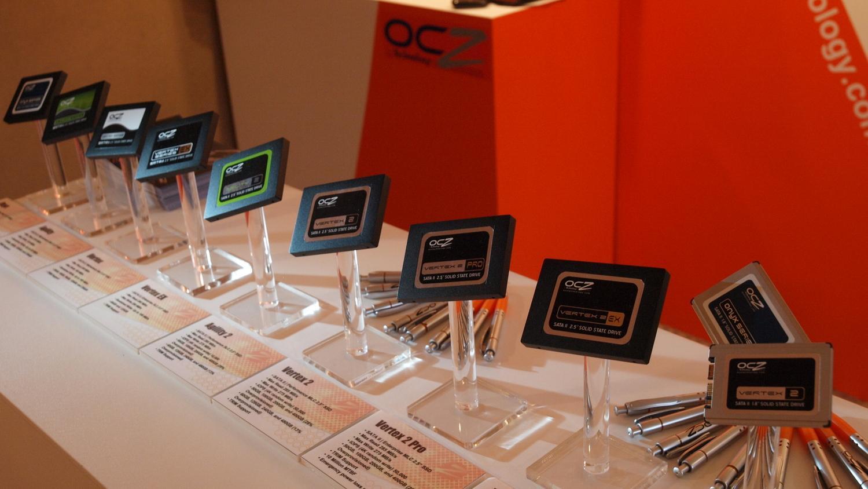 SSD i bøtter og spann