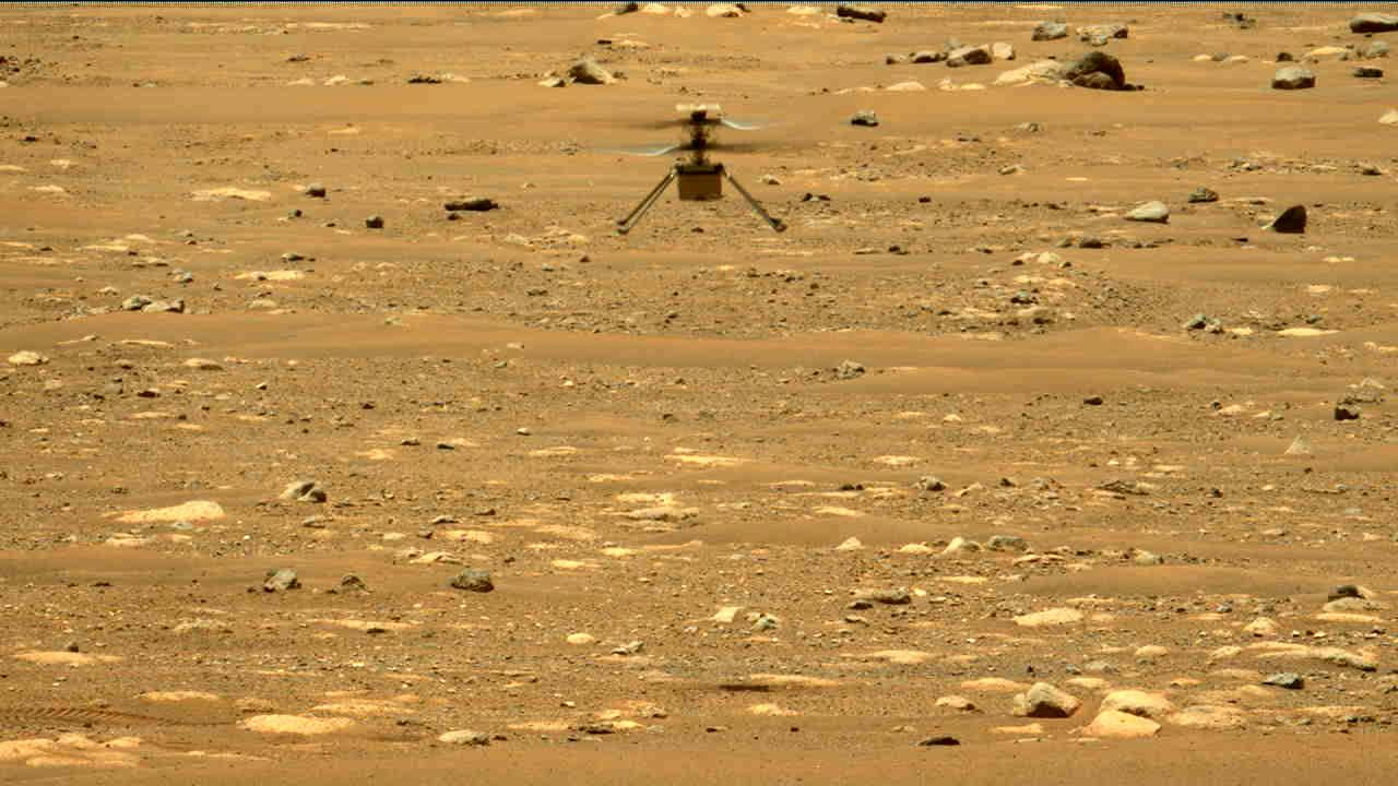 Nasas Mars-helikopter med nok en vellykket flygning