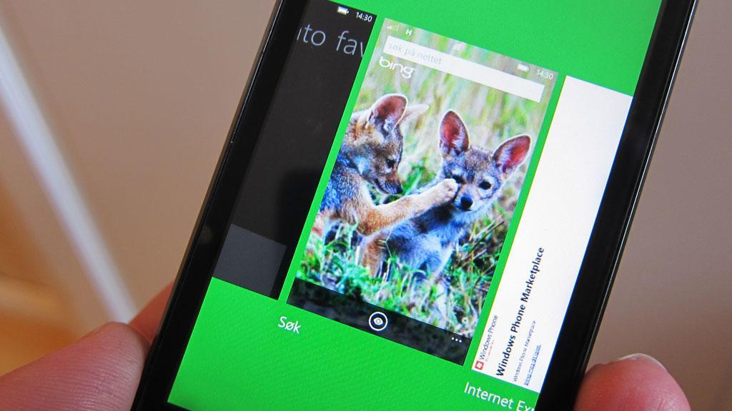 Windows Phone Mango har flerprogramkjøring.