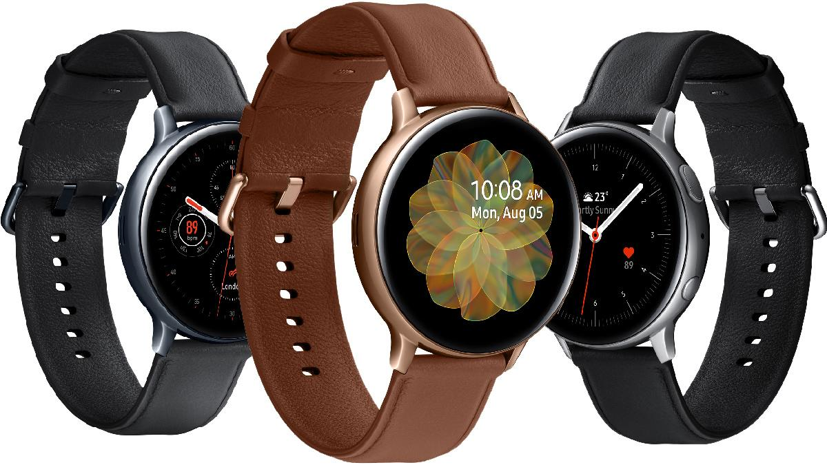 Samsung lanserer Galaxy Watch Active 2 med EKG-funksjon