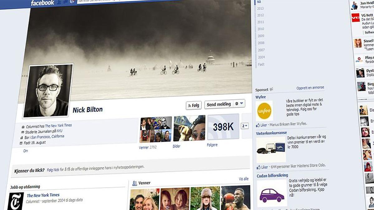 – Nå ser færre det du poster på Facebook