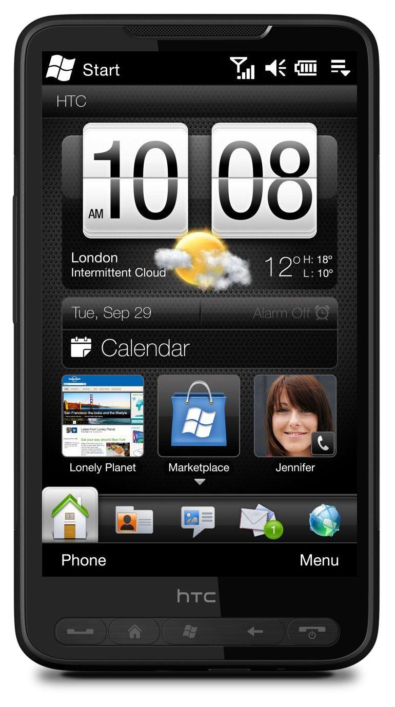 HTC HD2 er en av de siste toppmodellene så langt med gamle Windows Mobile 6.5.