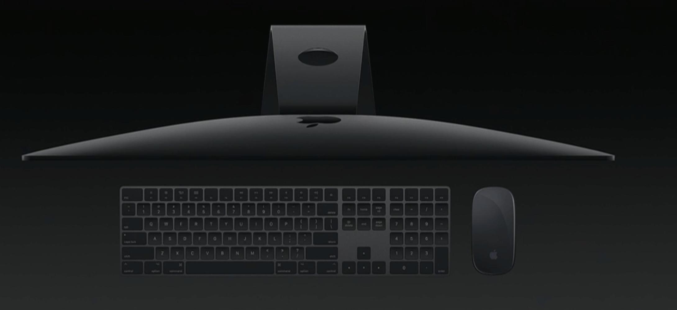 Nye iMac Pro.