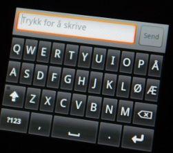 Du kan laste ned norsk tastatur som gir deg æ, ø og å.