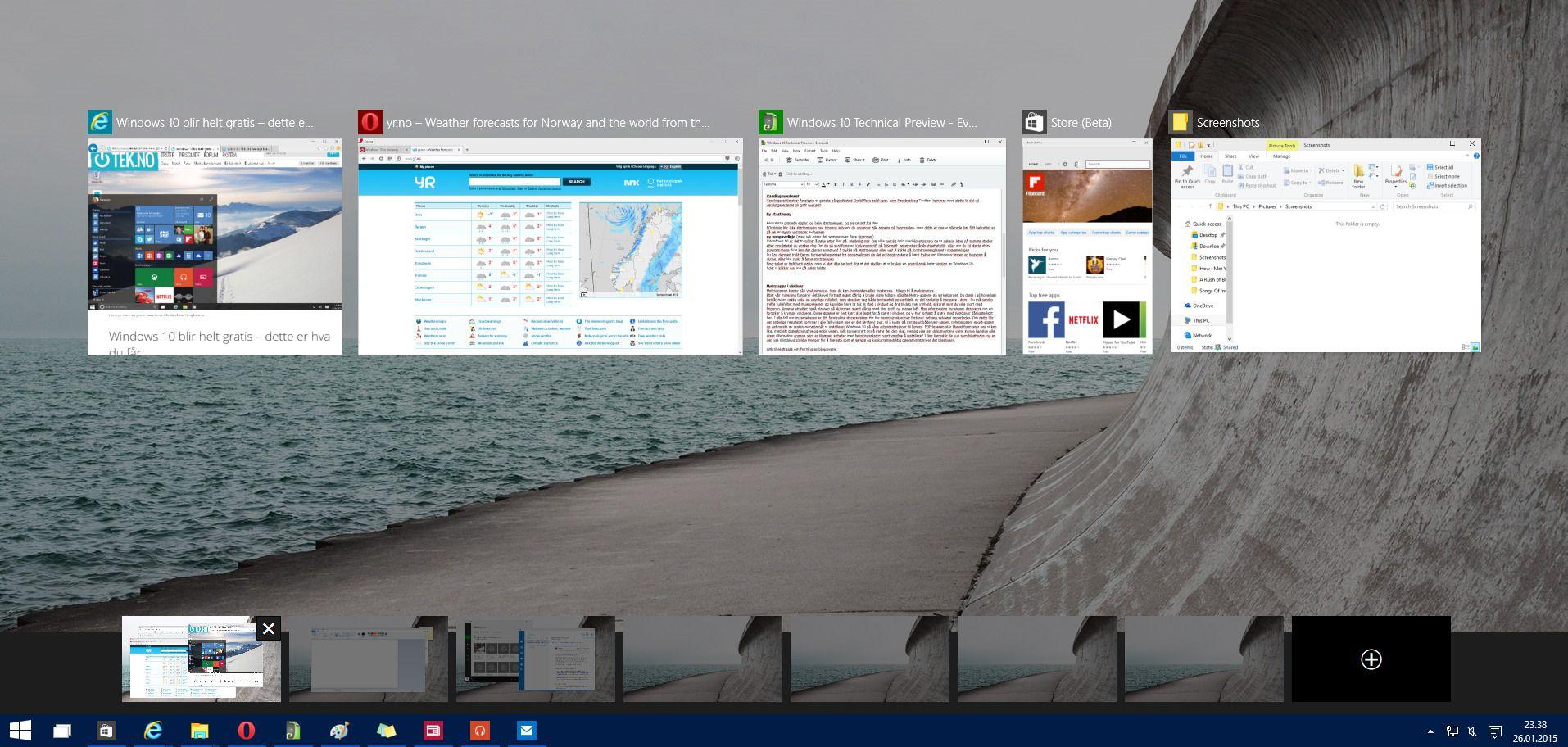 Virtuelle skrivebord kommer endelig, og det vi har sett så langt overbeviser. Vi ser frem til enda ryddigere skrivebord og bedre oversikt fremover.
