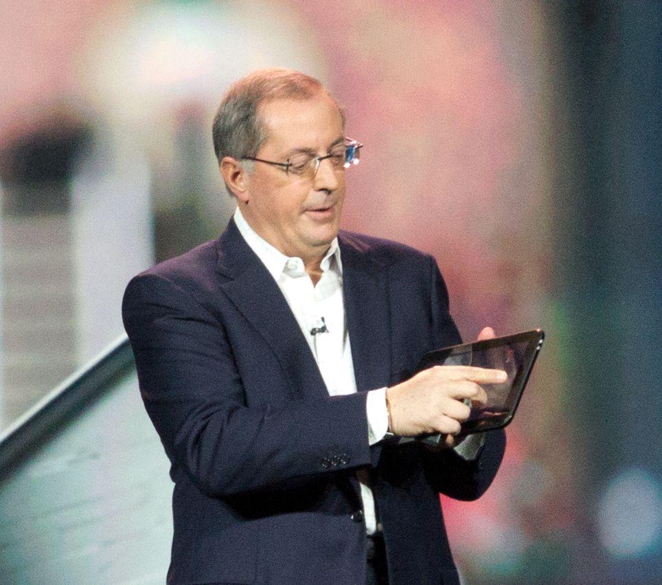 ... og referansedesignen for tablets