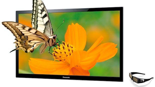 Panasonic med skred av TV-er
