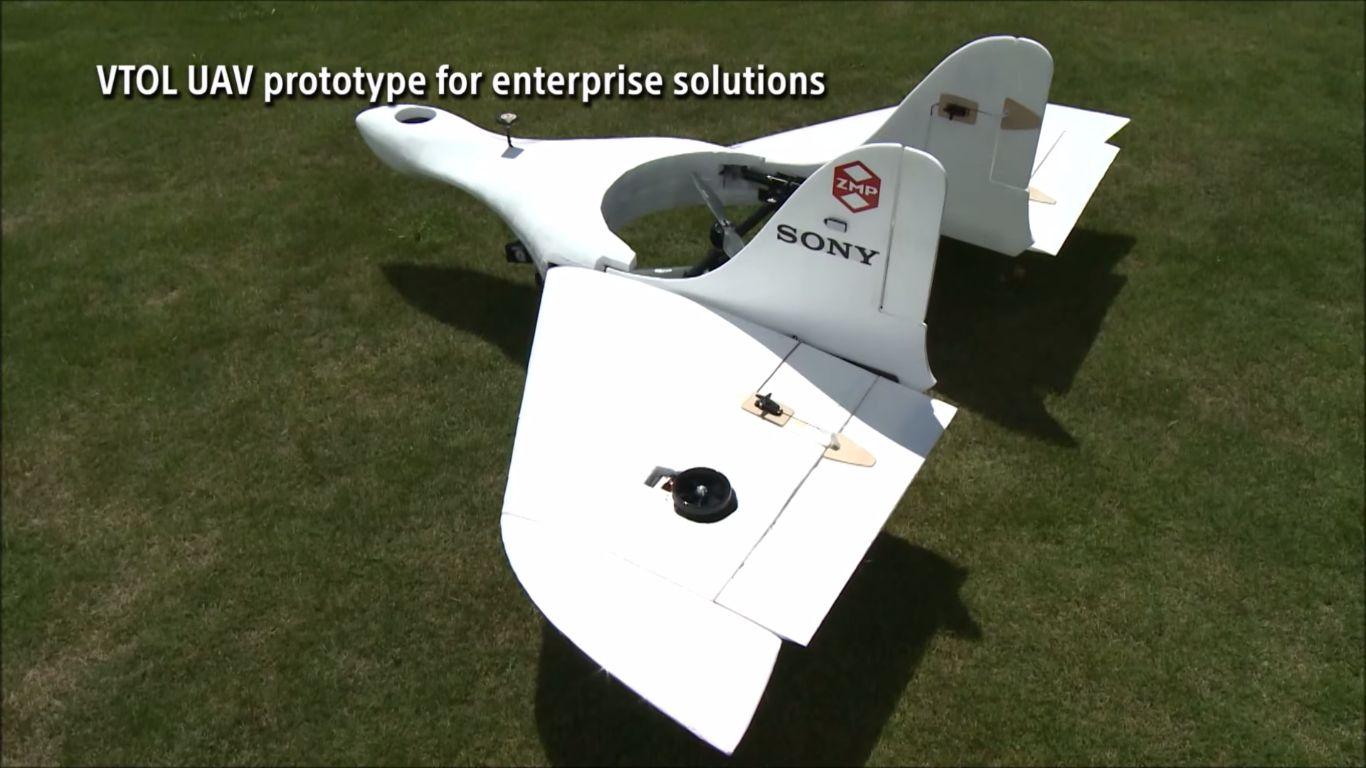Prototypen har et ganske uvanlig design og kan fly i opptil 170 kilometer i timen. Foto: Aerosense/YouTube