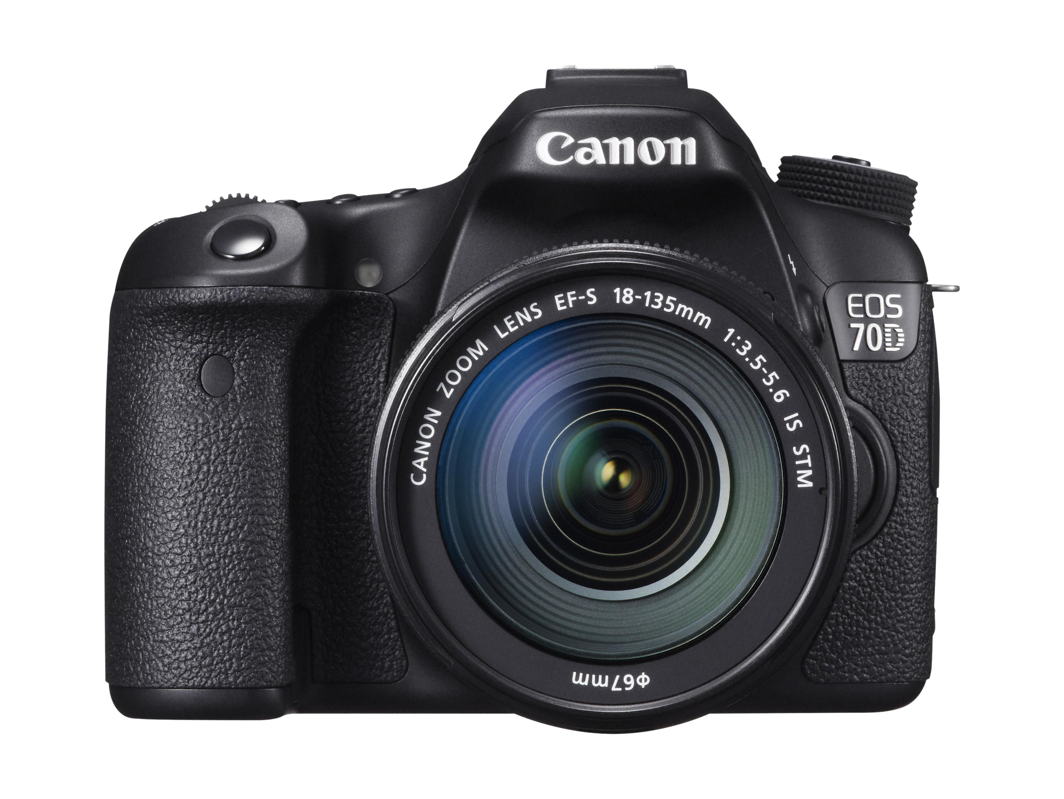 Canon EOS 70D med Canon EF-S 18-135 mm f/3.5 - 5.6 IS STM.Foto: Canon