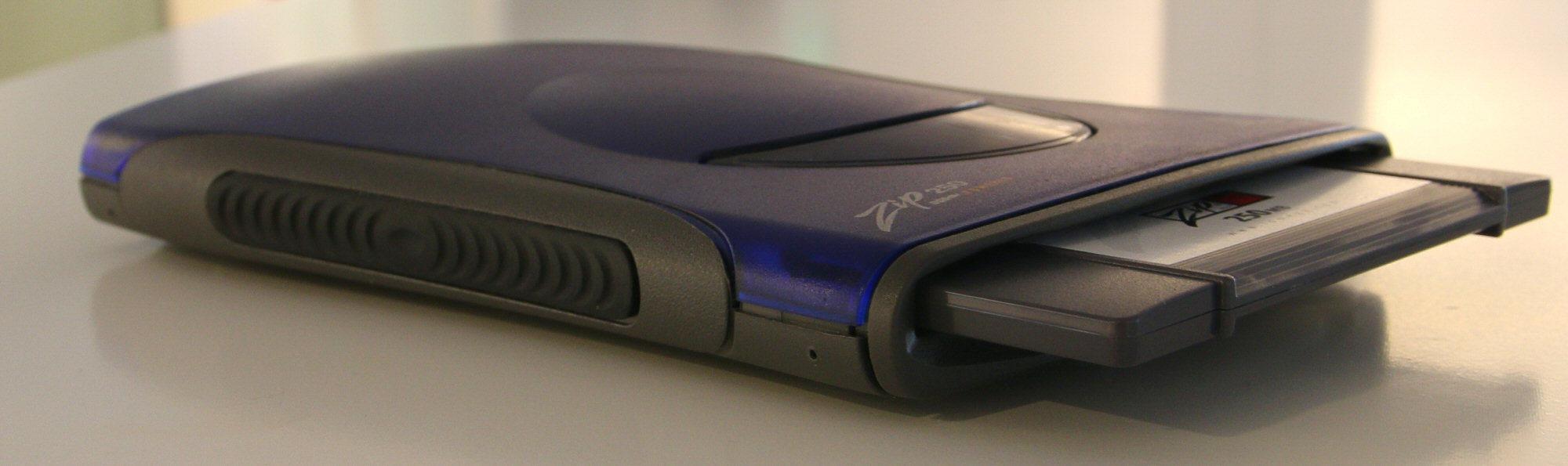 Det var behov for portabel plass, og Iomega hadde løsningen.Foto: Vegar Jansen, Hardware.no