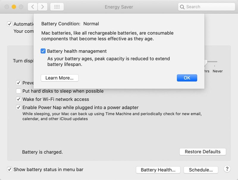 Slik ser valget ut i nye macOS.
