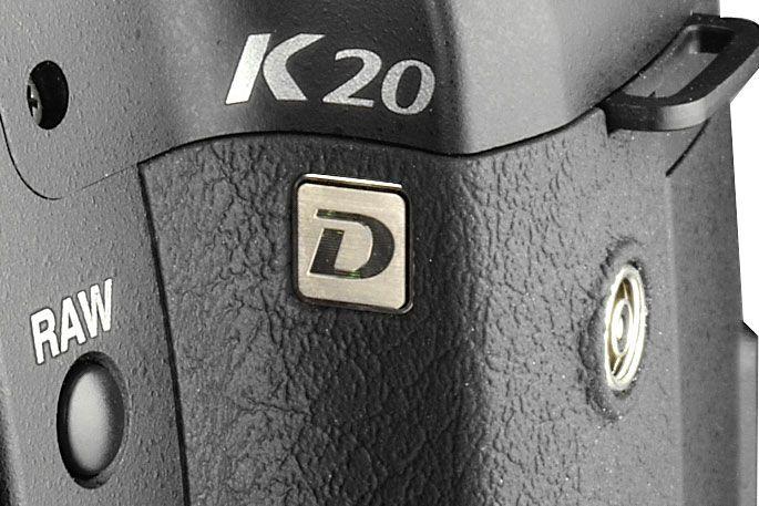 X-sync-kontakt er nytt på K20D