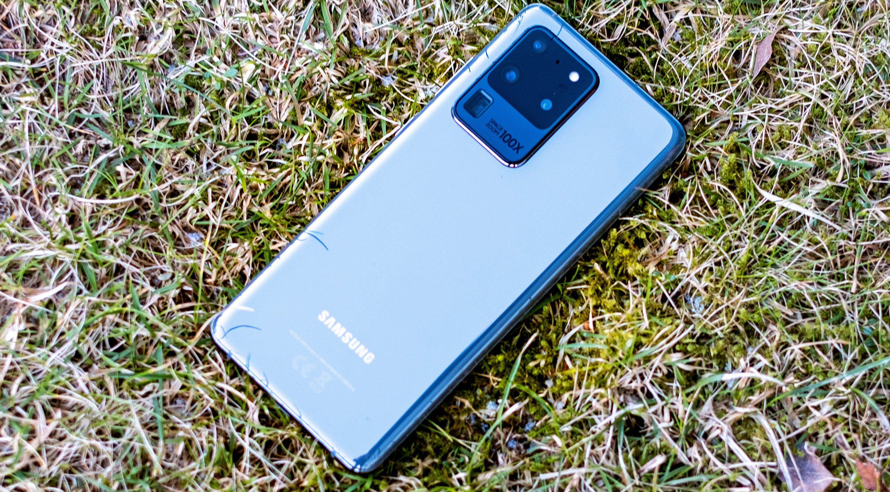 Kameraet på Galaxy S20 Ultra skal være