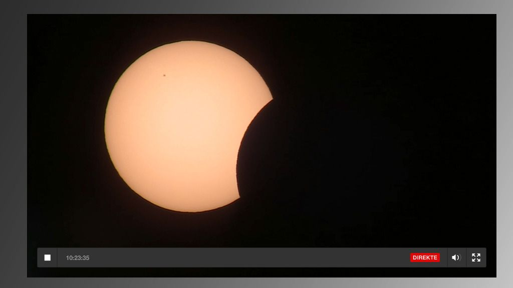 Se solformørkelsen på nettet