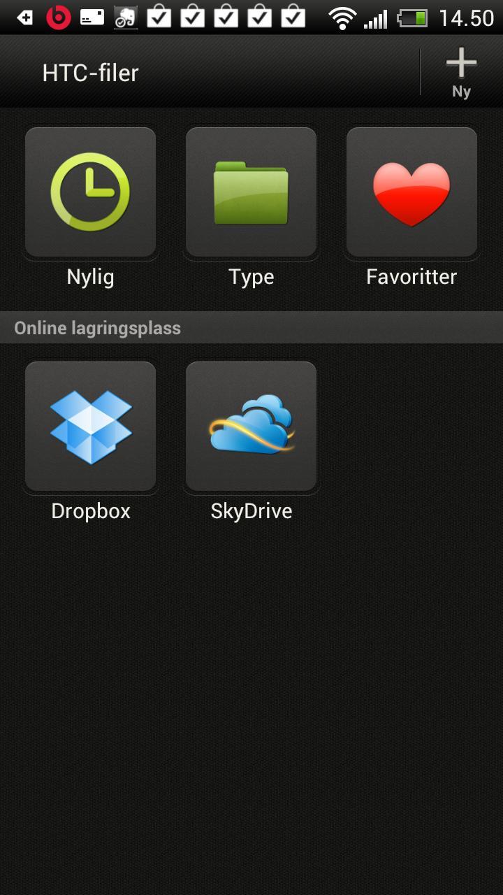 Polaris Office jobber direkte mot Dropbox og SkyDrive.